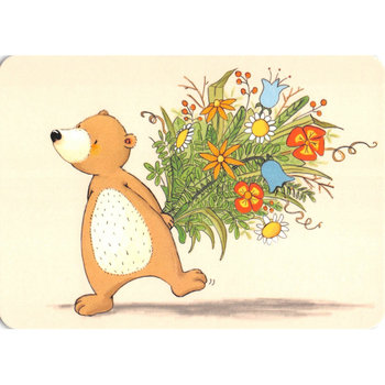 Postcard Gutrath Verlag | Flowers for you