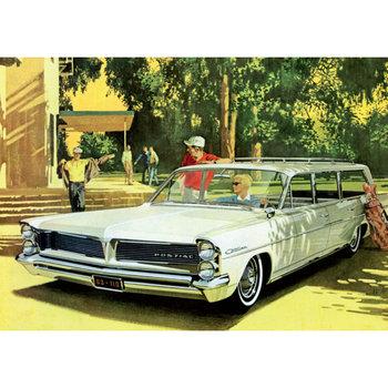 Postcard | Vintage Ad (1950s) 15x15