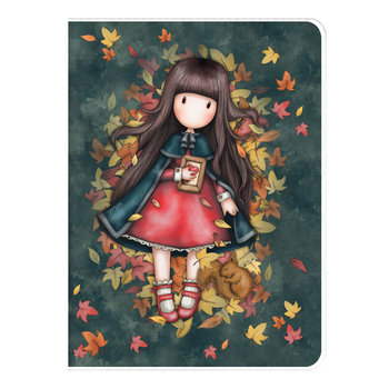 Gorjuss - A4 PVC Cover Notebook - Autumn Leaves