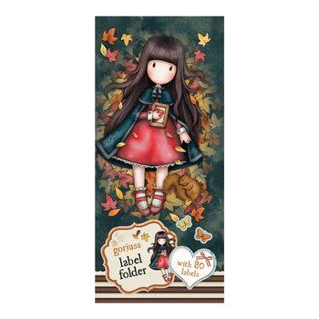 Gorjuss - Label Folder - Autumn Leaves