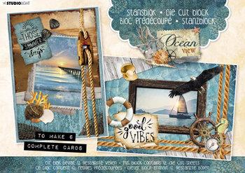 Studio Light A5 Die Cut Block | Ocean View nr.28