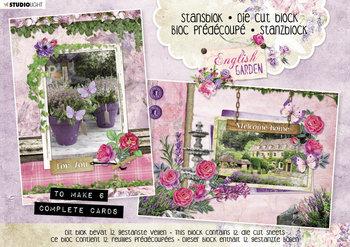 Studio Light A5 Die Cut Block | English Garden nr.29