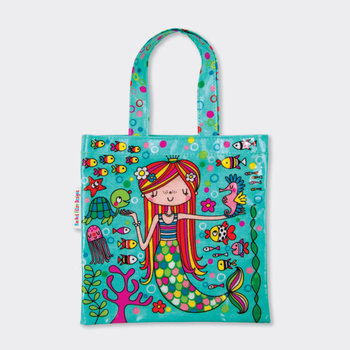 Mini Tote Bag Rachel Ellen Designs - Mermaid