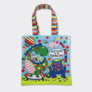 Mini Tote Bag Rachel Ellen Designs - Dinosaurs