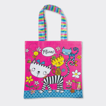 Mini Tote Bag Rachel Ellen Designs - Cats Miaow