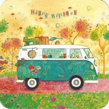 Jehanne Weyman Postcard | The van