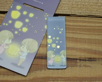 Amy and Tim Collection Magnetic Bookmark (Lanterns)