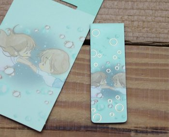 Amy and Tim Collection Magnetic Bookmark (Underwater)