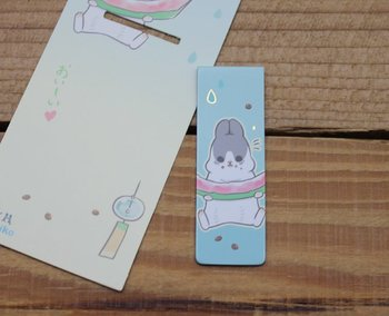 Machiko Bunny Collection Magnetic Bookmark