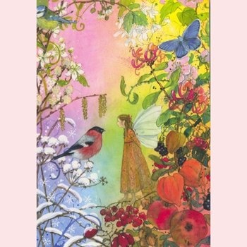 Postcard Daniela Drescher   Four Seasons