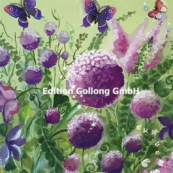 Sabina Comizzi Postcard   Summer flowers and butterflies