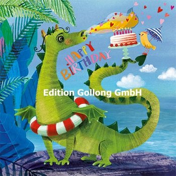Mila Marquis Postcard | Happy Birthday (Draak)