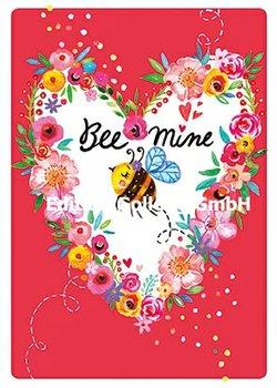 Rita Berman Postcard   Bee mine