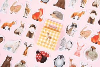 Sticker Flakes Box   Animal farm