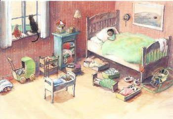 Gallery Cards Postcard   Marit Törnqvist - Illustration from