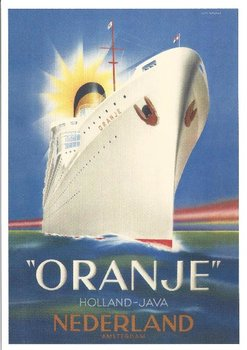 Museum Cards Postcard   Het passagiersschip Oranje
