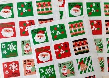 Sluitzegel Stickers X-mas | Christmas Stamps