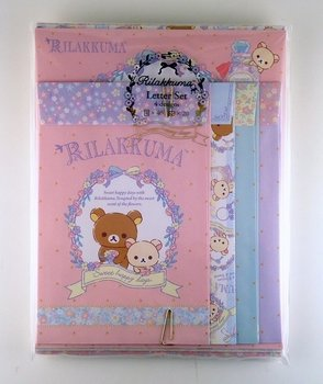 San-X Rilakkuma Letter Set - Sweet Happy Days