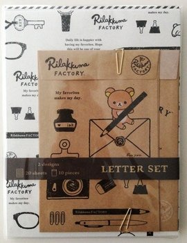 San-X Rilakkuma Factory Letter Set