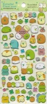 San-X Sumikkogurashi Puffy Epoxy Stickers | Things in the corner
