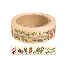 San-X Sentimental Circus Washi Deco Tape