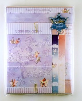 San-X Sentimental Circus Letter Set | Starlight Spica Series
