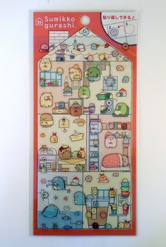 San-X Sumikkogurashi Clear Seal Sticker