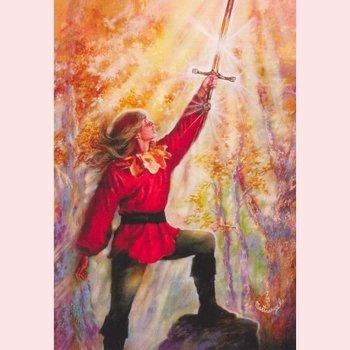 Postcard Fantasy Judy Mastrangelo | Excalibur