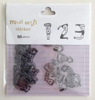 Sticker Flakes Sack | Moji Moji Numbers