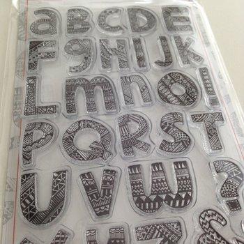 Marianne Design Clear Stamp | Doodle Alphabet