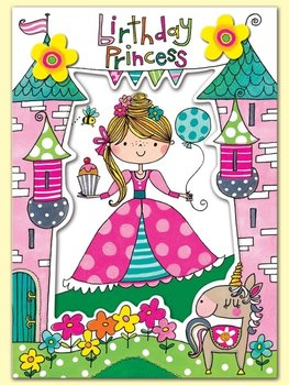 Rachel Ellen Designs Postcards - Wonderland - Birthday Princess