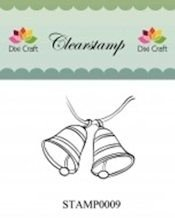 Dixi Craft Clear Stamp | Bells
