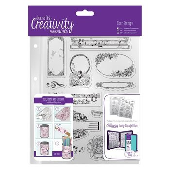 A5 Clear Stamp Set (14pcs) - Musicality