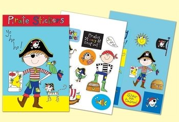 Rachel Ellen Designs Sticker Match Note Pads | STMNT2 Pirate Stickers
