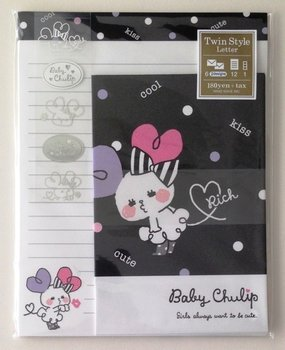 Mind Wave Kawaii Twin Style Postpapier Set | Baby Tulip