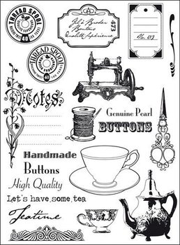 Eline's Huis Clear Stamp | Tea Time