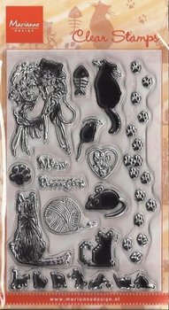 Marianne Design Clear Stamp | Sweet Kitty