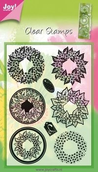 Joy!Crafts Clear Stamps | Wreaths