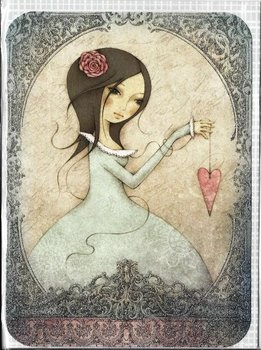 Santoro Eclectic Collection Double Postcard | All for love