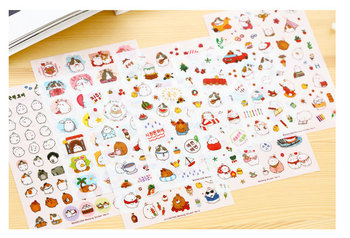 Bunny Sticker Set | Bus
