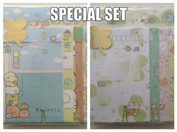 SPECIAL SET San-X Sumikkogurashi letter set | Clovers