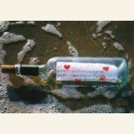 Art Unlimited Postcard | Message in a bottle