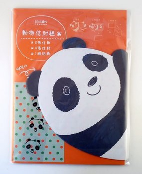 Die-Cut Briefpapier Set | Panda Beer