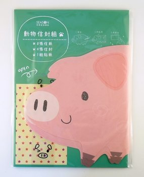 Die-Cut Letter Set   Pig