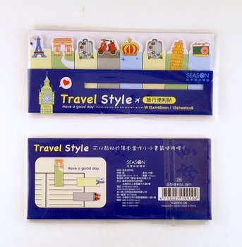 Index Sticky Notes | Travel Style