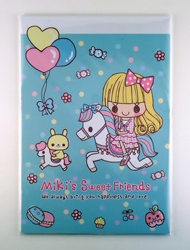 Letter Paper Pad | Miki's Sweet Friends