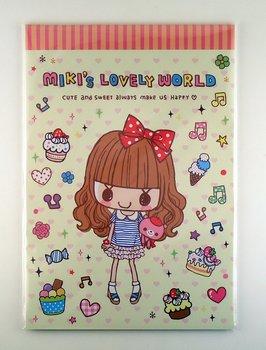 Letter Paper Pad | Miki's Lovely World