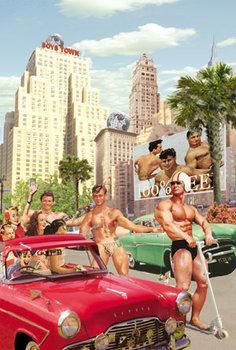 Boys Town Individual Postcard by Max Hernn
