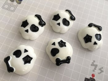 Flatbacks Resin Charms | Skull