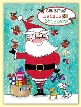 Rachel Ellen Designs - Santa - Christmas Labels and Stickers